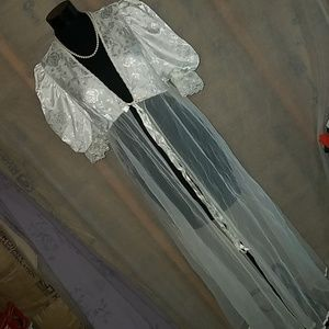 7f31959b2aa9d tosca lingerie · Vintage Tosca lingerie white sheer robe small